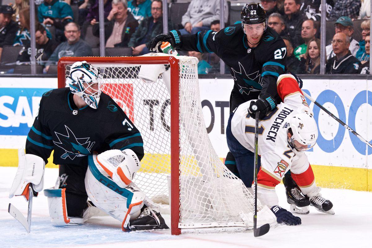 NHL: MAR 14 Panthers at Sharks