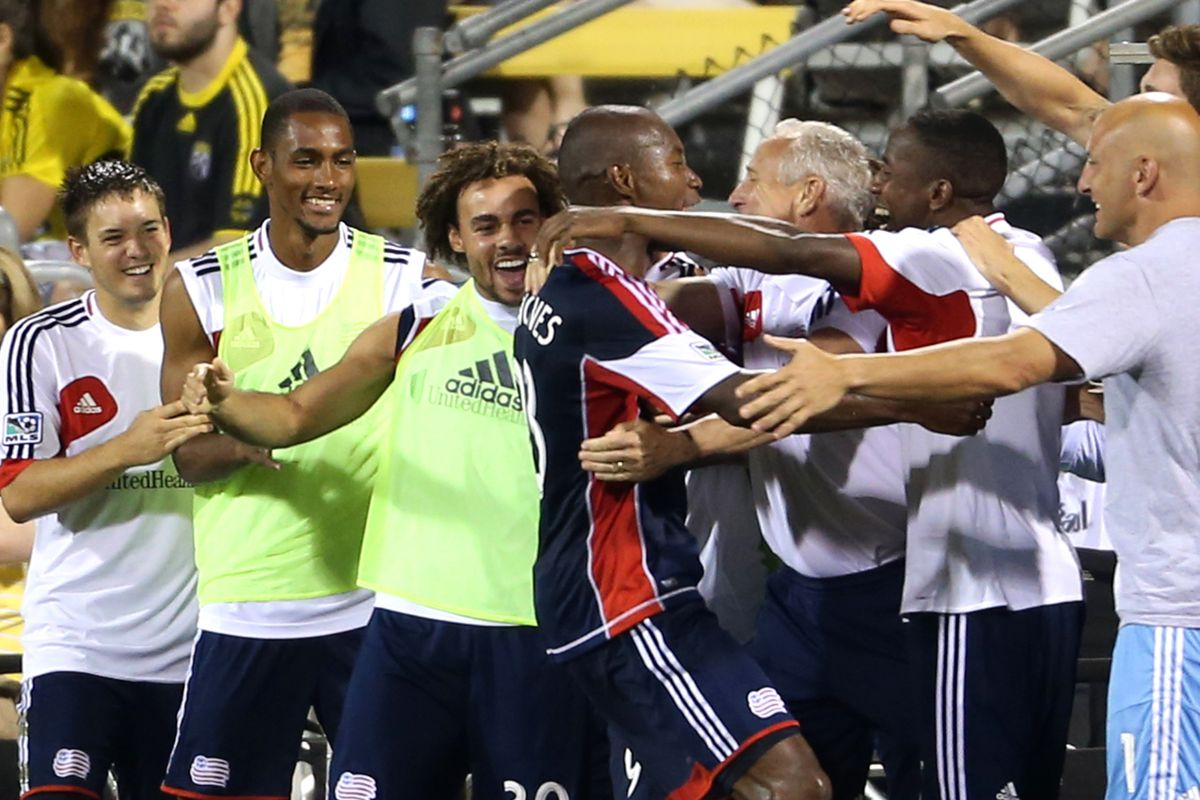THIS is how I will remember the Revs this season.