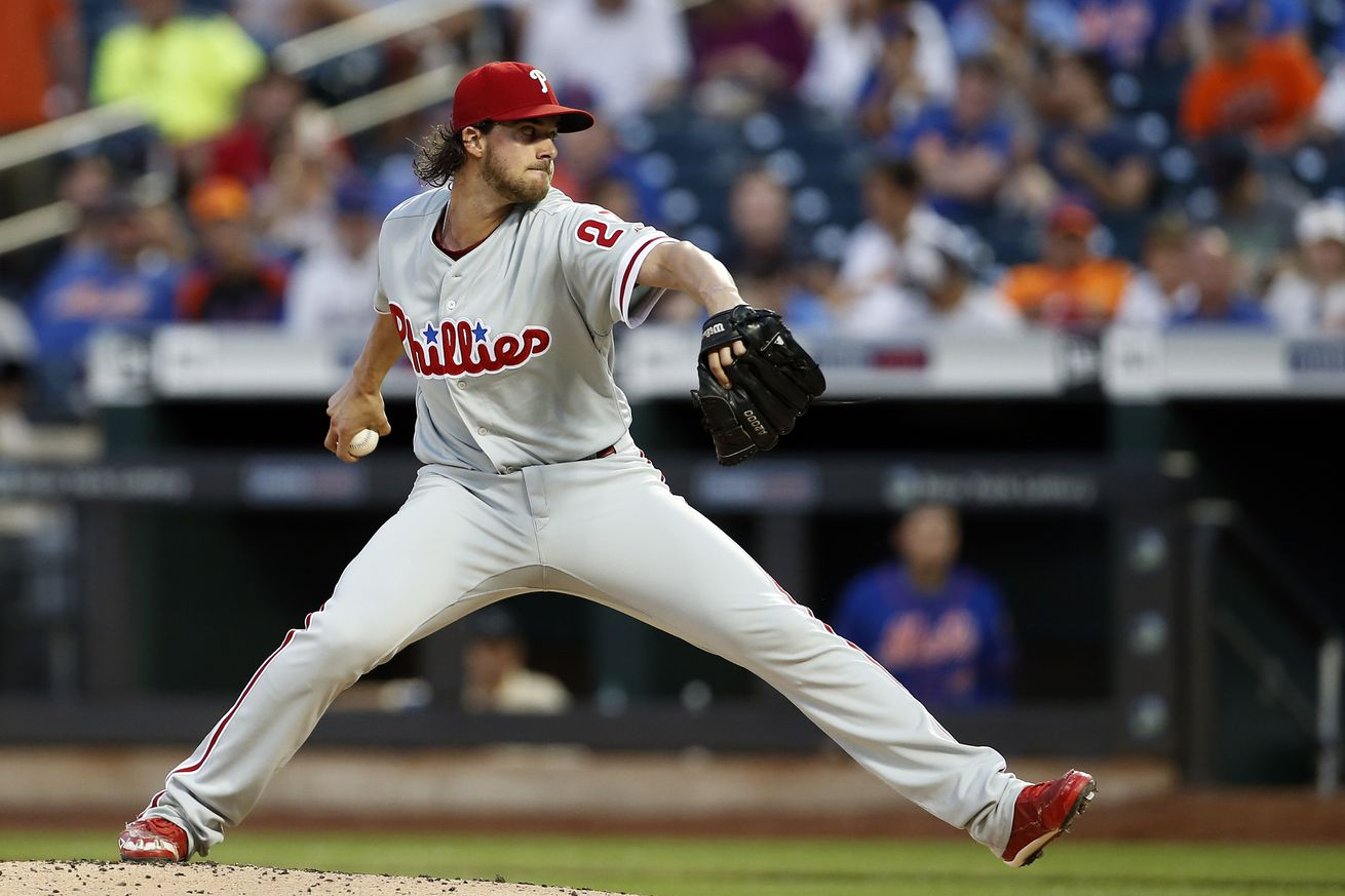 Aaron Nola was a star on the mound and with the bat