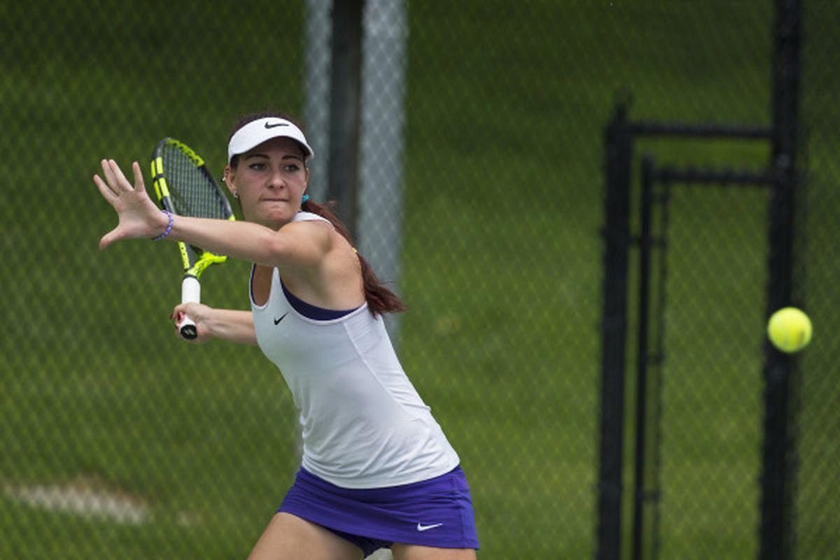 TCU Women's Tennis - Sofiko Kadzhaya
