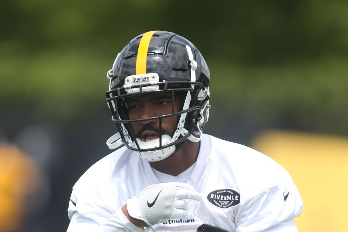 finest selection 903b2 9d62c Jaylen Samuels already impressing the Steelers with his ...