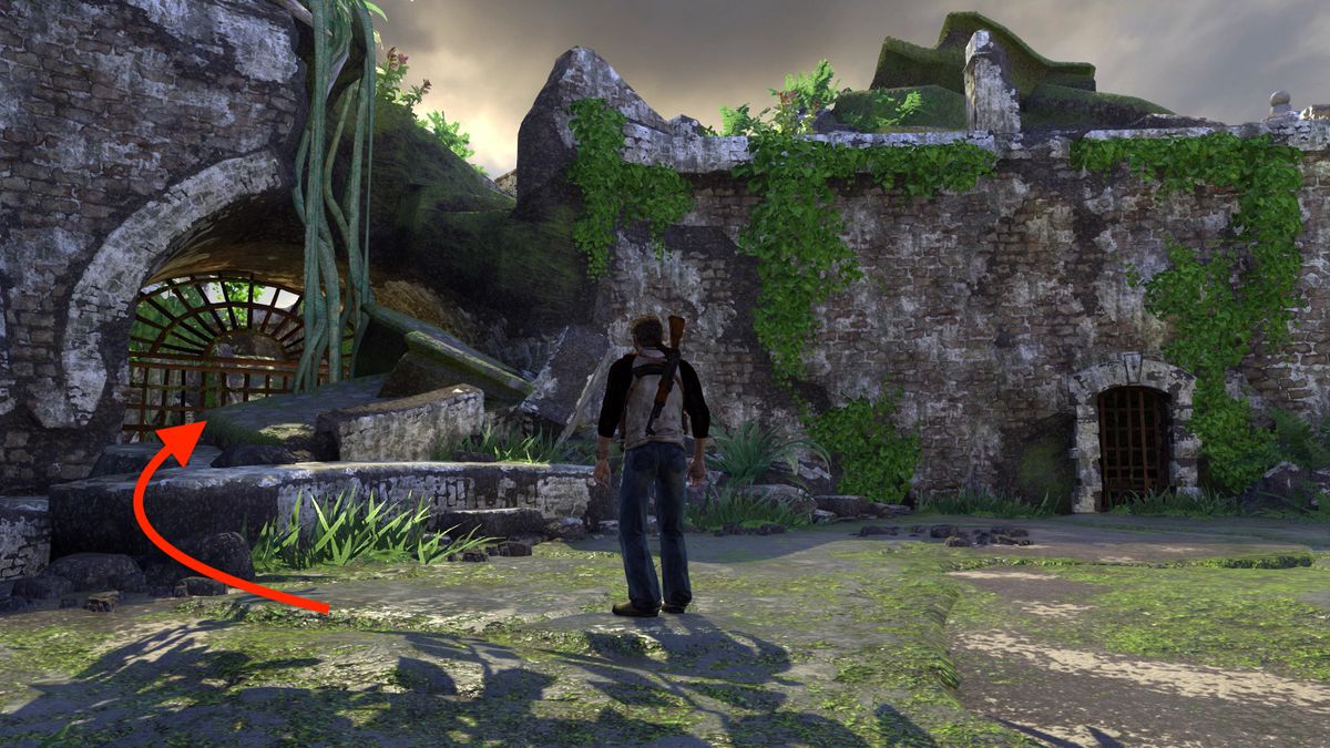 Uncharted: Drake's Fortune Chapter 5 collectible treasure locations