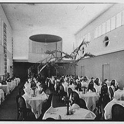 Seven Seas Restaurant Main Dining Room - Courtesy of Library of Congress Prints - Photographer: Gottscho-Schleisner, Inc.
