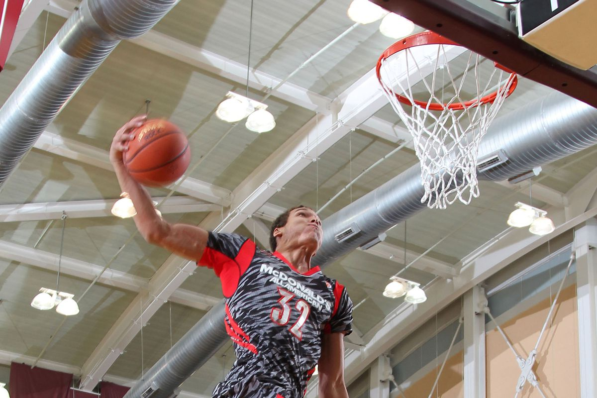 Aaron Gordon at this year's McDonald's All-American Game