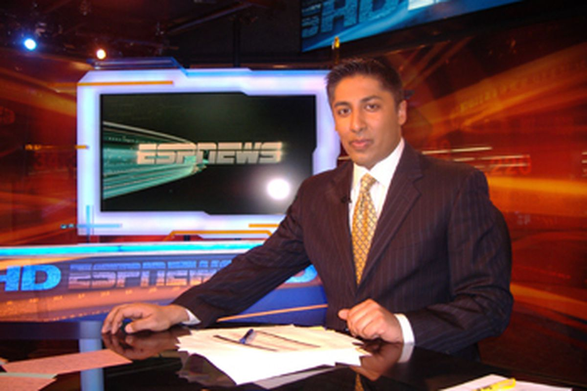 ESPN Anchor Anish Shroff will be calling the Notre Dame/Penn game on Saturday