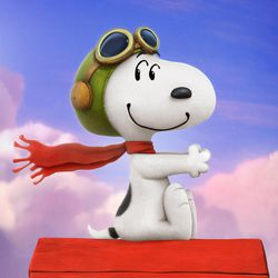 """Snoopy is about to prove that every dog has its day in""""The Peanuts Movie."""""""