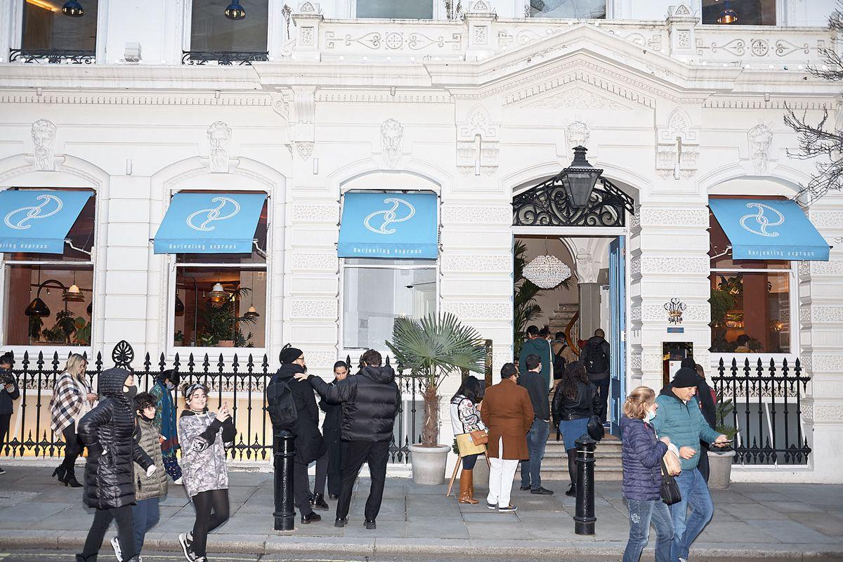 Darjeeling Express, Covent Garden. Asma Khan's new restaurant