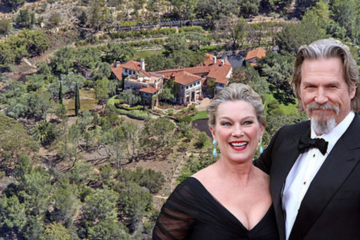 Jeff Bridges Selling Montecito Estate Where He Tended the ...