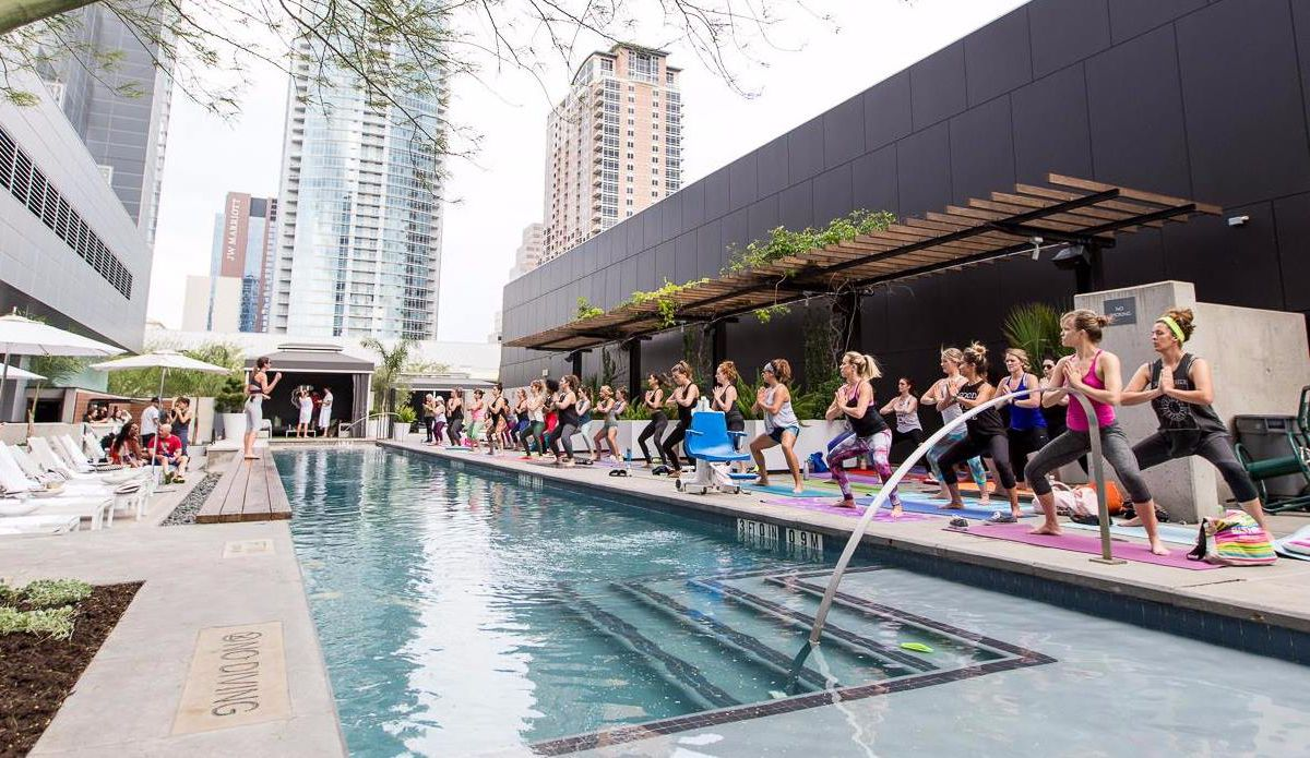 Barre at the W Hotel