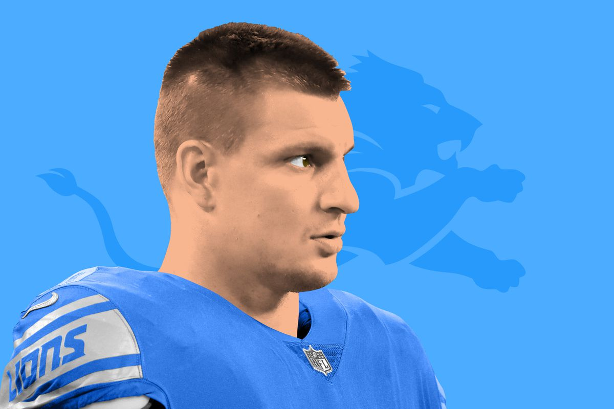 Rob Gronkowski On The Lions An Alternate Timeline The Ringer