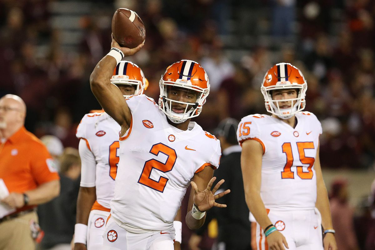 Clemson QB Kelly Bryant leaves Wake Forest game with apparent ankle injury