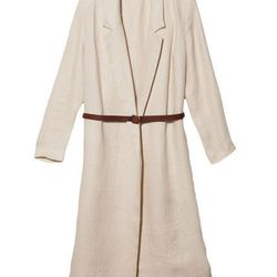 """<b>Collection by Giada Forte</b> Jacquard Linen Coat, <a href=""""http://otteny.com/catalog/sale/jacquard-linen-coat.html"""">$208</a> (was $695) at Otte"""