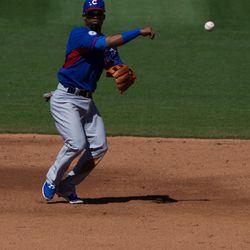 Arismendy Alcantara at third base -