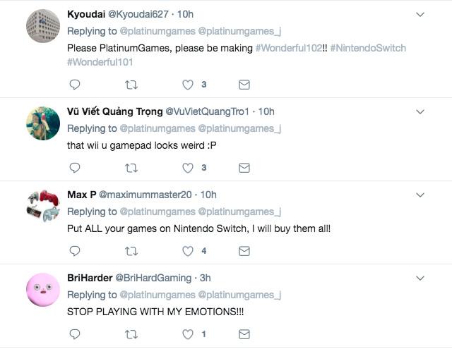 platinumgames twitter replies