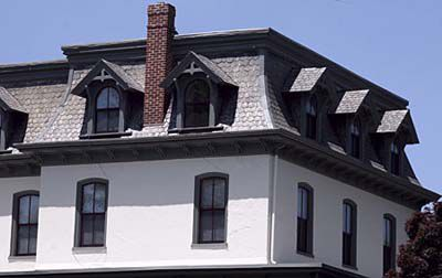 Mansard Style Roof On A House