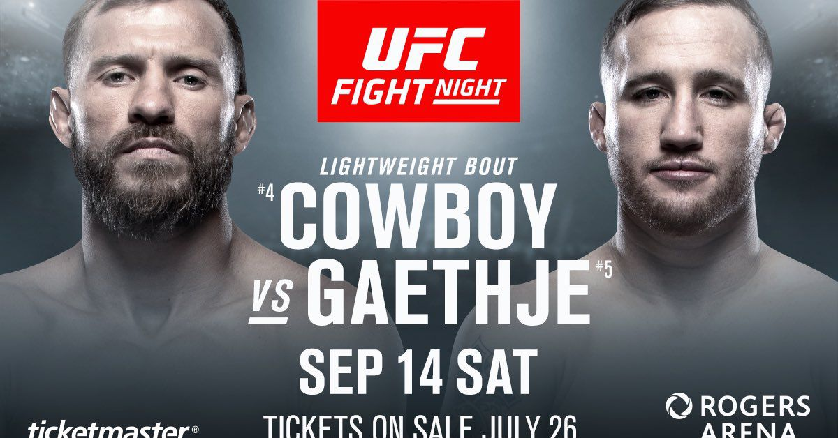 Latest UFC Fight Night 158 fig...