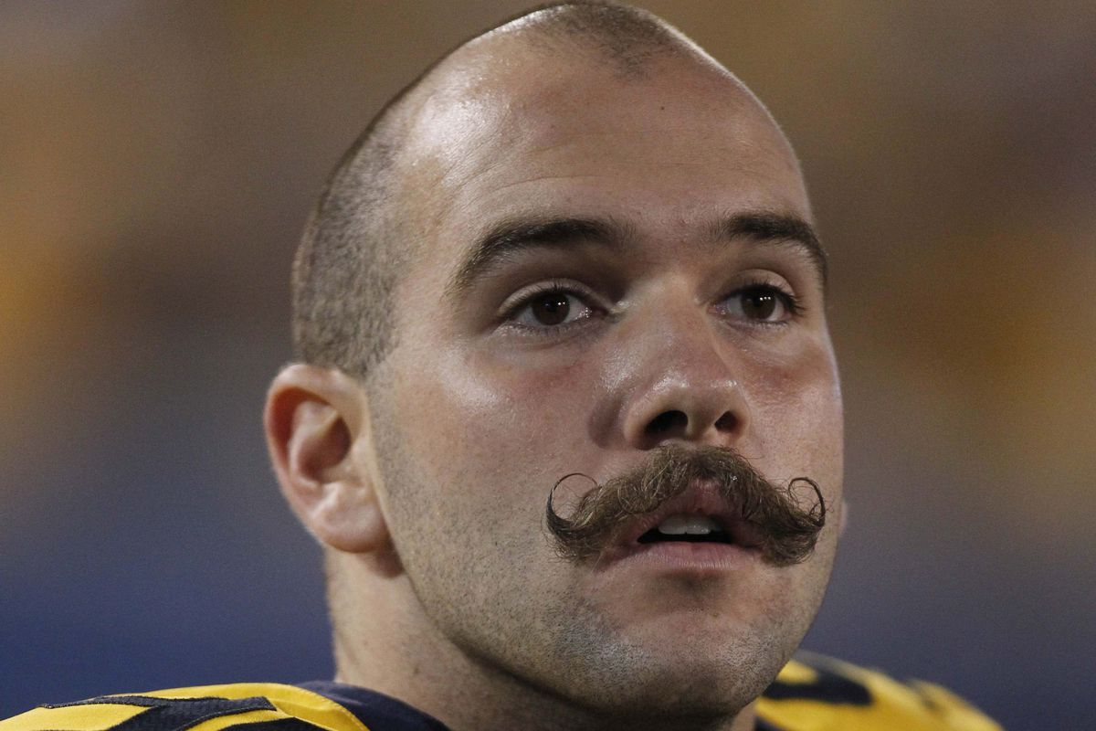 That mustache is not fake. I repeat. . .not fake.
