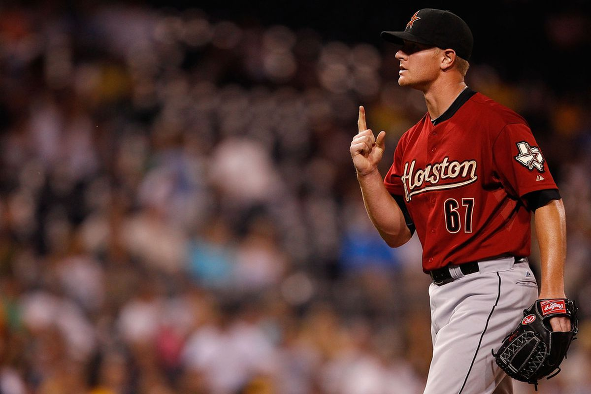 David Carpenter is not doing his part for the number 1 selection in next years draft.