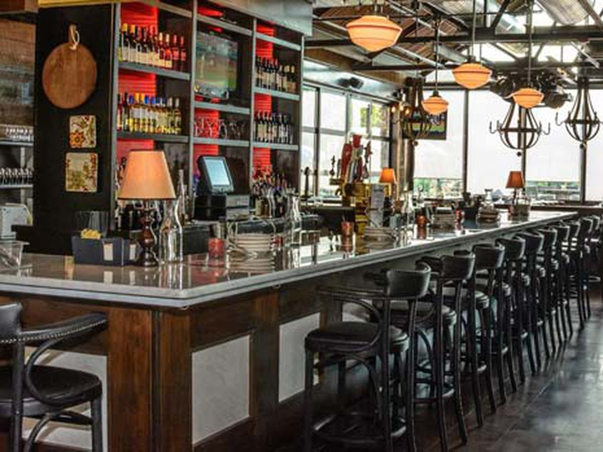 Stella Rossa's gluten-free menu includes plenty of pizza, among other options.