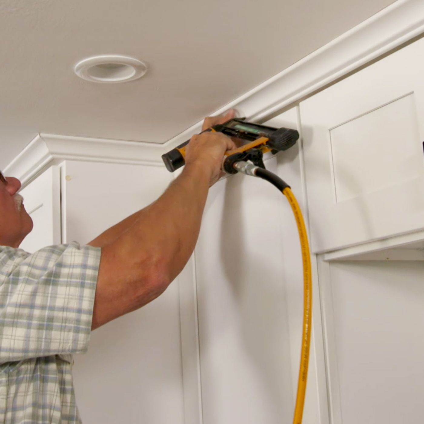 How To Hang Crown Molding On Kitchen Cabinets This Old House