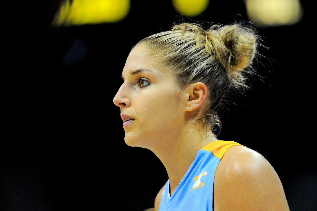 Chicago Sky rookie forward Elena Delle Donne scored a career-high 26 points yesterday.