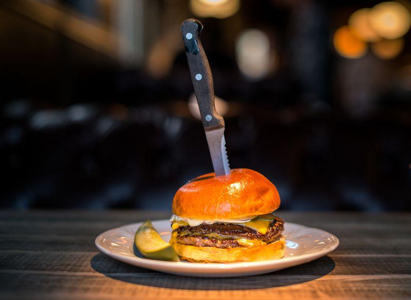 The Au Cheval burger