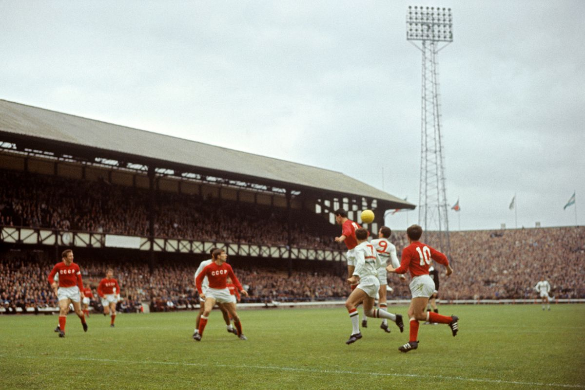 Soccer - World Cup England 1966 - USSR v Hungary - Quarter Finals - Roker Park Sunderland.