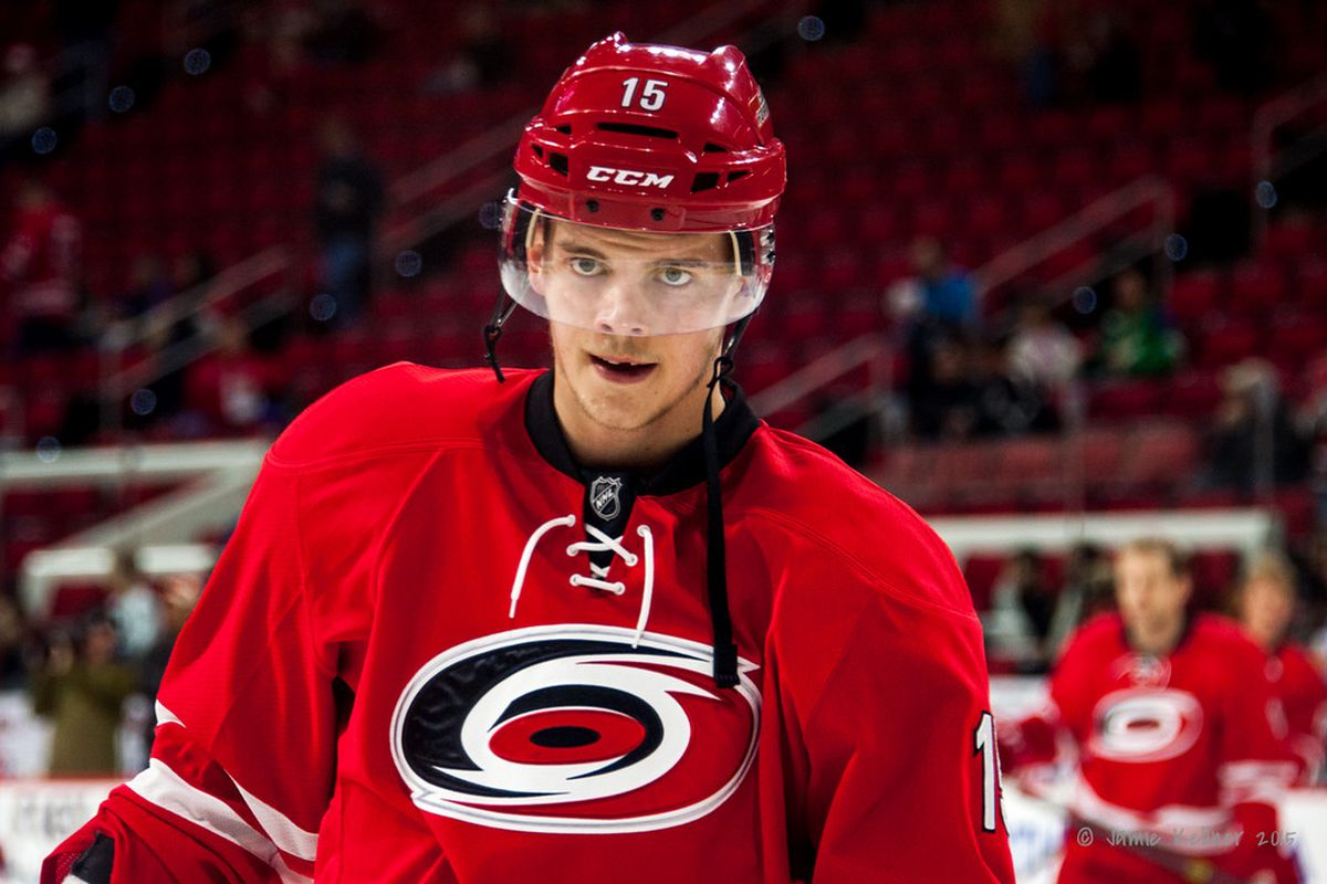 Here's looking at you, kid. Andrej Nestrasil has goals in three of his last four games, and is coming off a three-point night against the Senators.