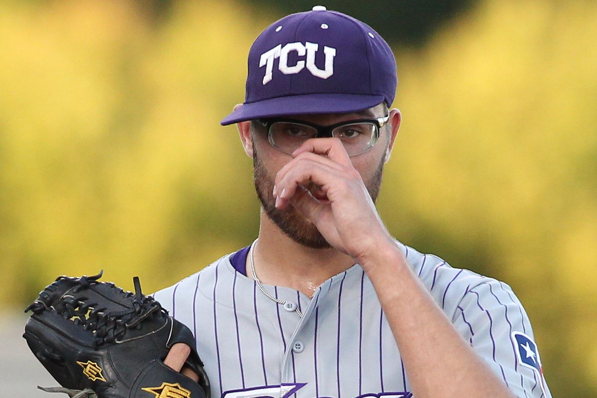 Nationals' prospect Matt Purke in his college days at TCU.