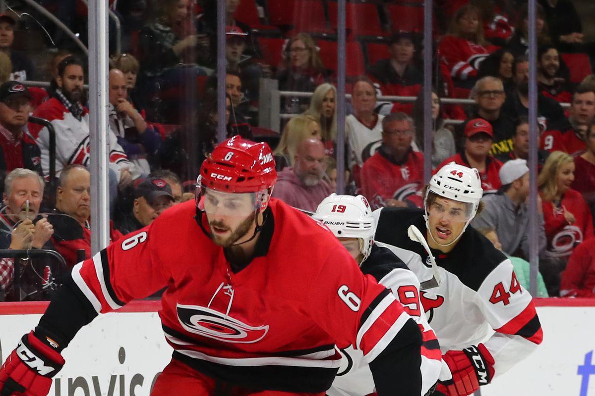 NHL: NOV 02 Devils at Hurricanes