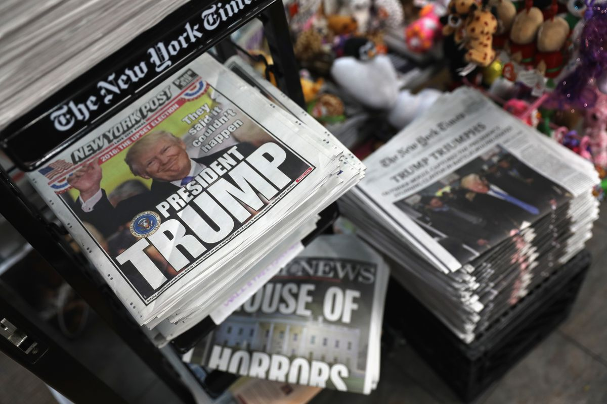 New York City Front Pages