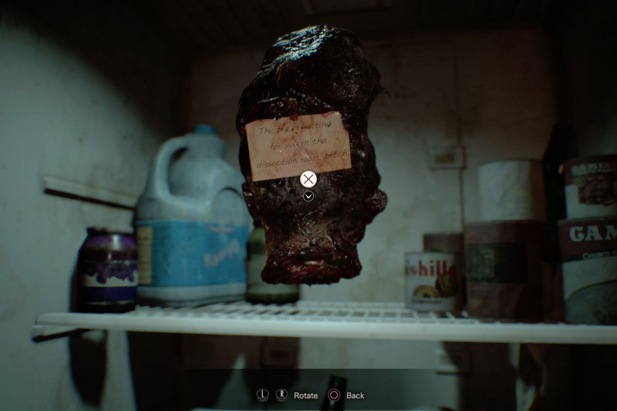 resident evil 7 guide and walkthrough 4-1 dissection room