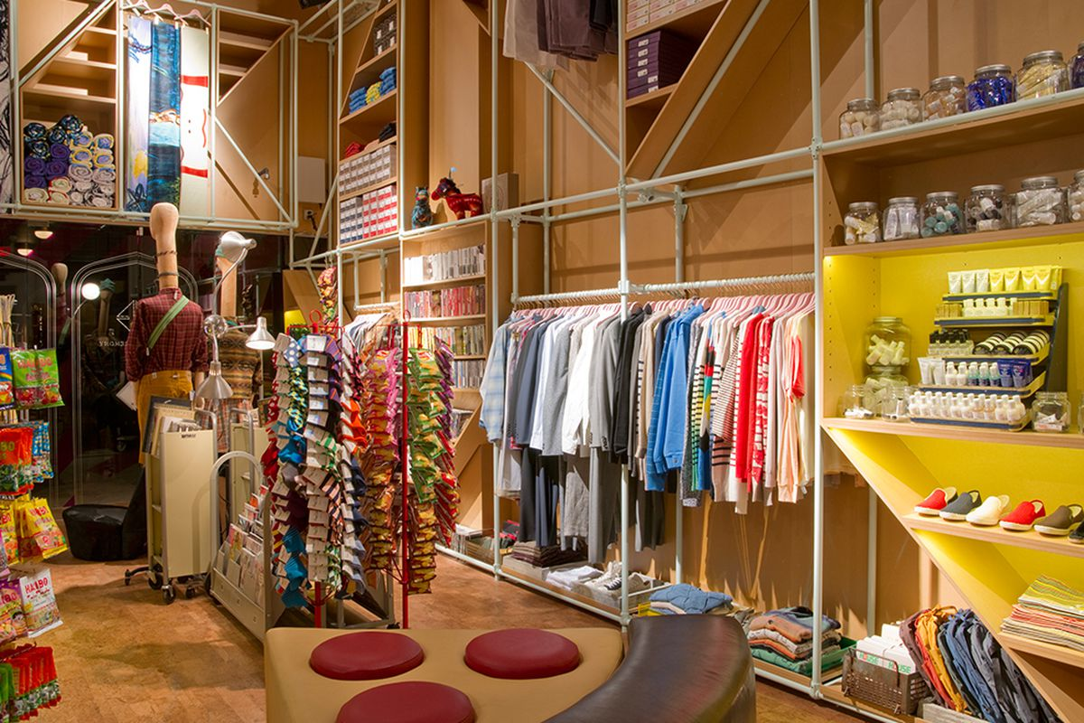 """The <a href=""""https://www.openingceremony.us/about/ocace"""">Opening Ceremony</a> store at the Ace Hotel"""