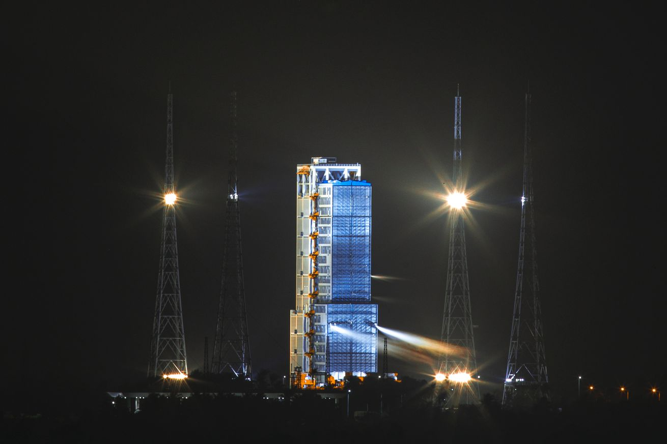 China To Launch Chang'e-5 Lunar Probe