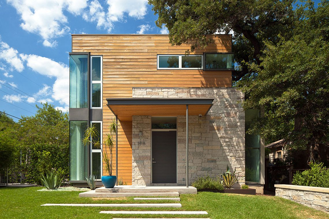 Modern/contemporary two-story home