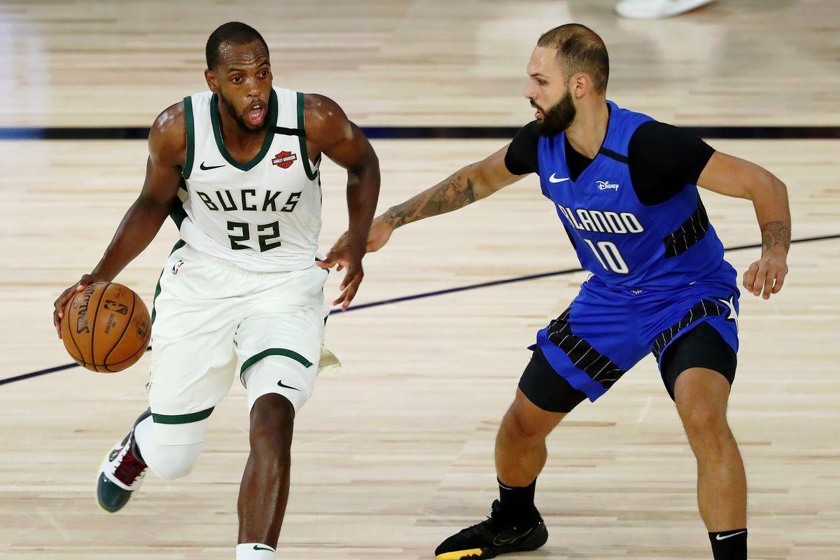 Orlando Magic v Milwaukee Bucks - Game One