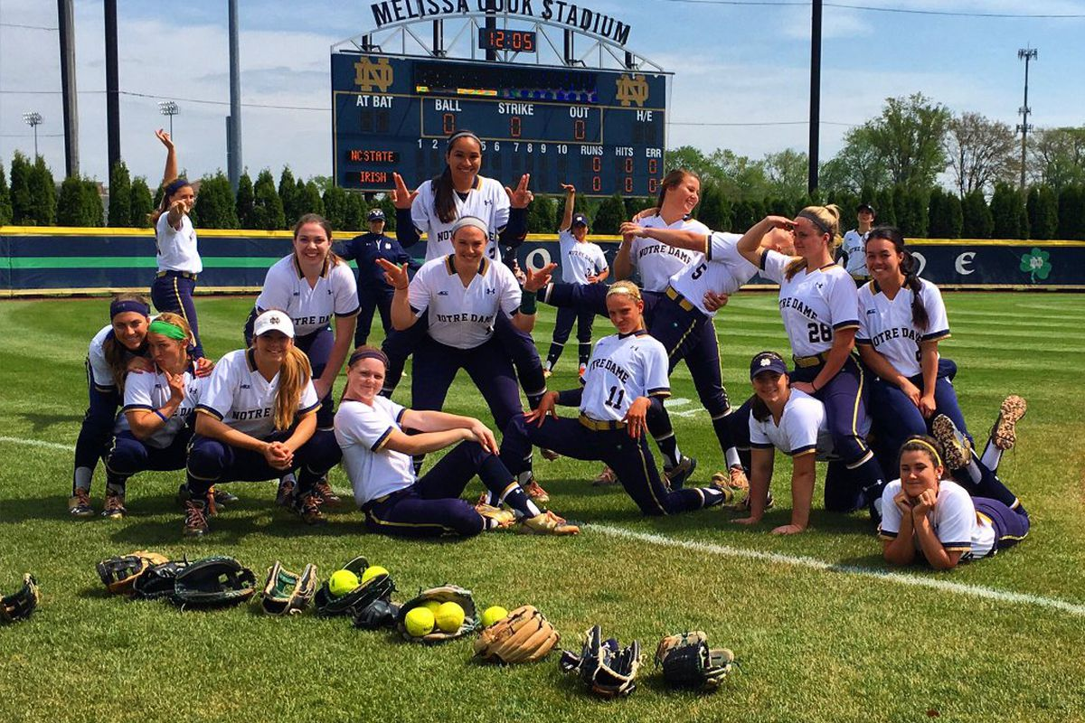 No. 19/21 softball went 2-1 this weekend, winning their series with NC State.