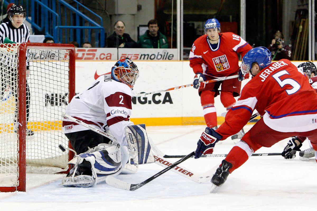 IIHF World Junior Championship - Czech Republic v Latvia