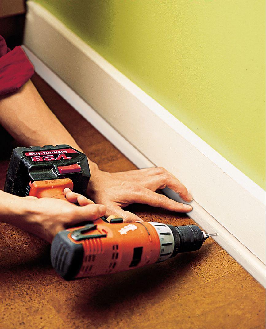 Oct 2006 issue, Homeowners Handbook, cork floor step 8