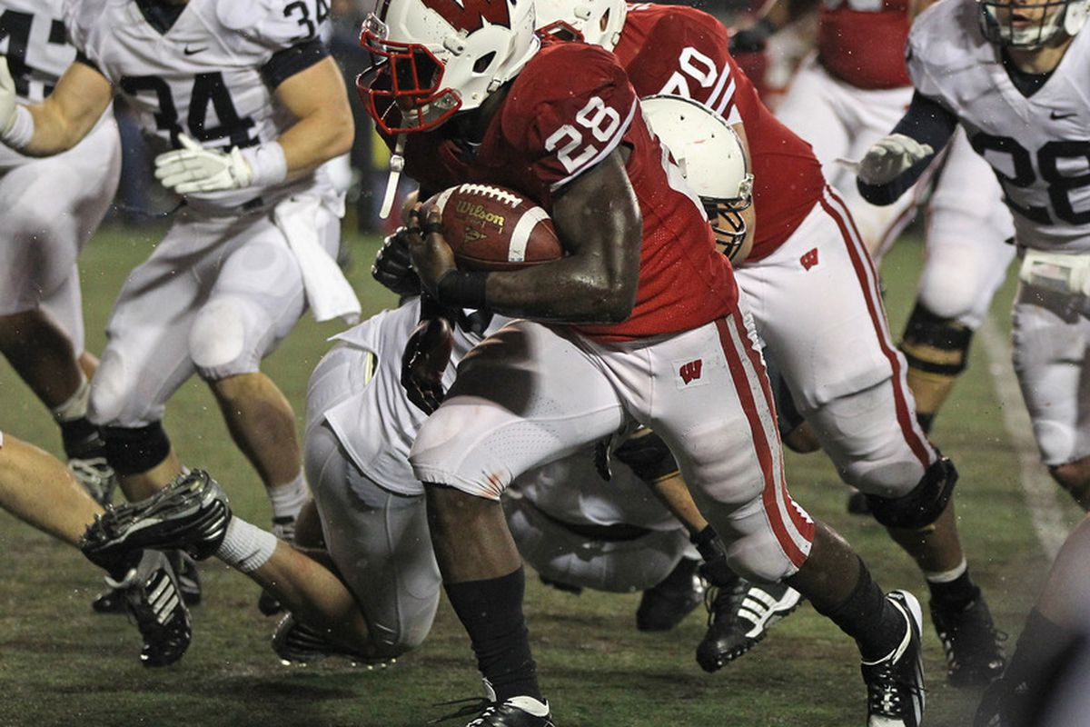 Montee Ball ran all over Penn State on Saturday, setting up a rematch with Michigan State in the B1G Championship Game.