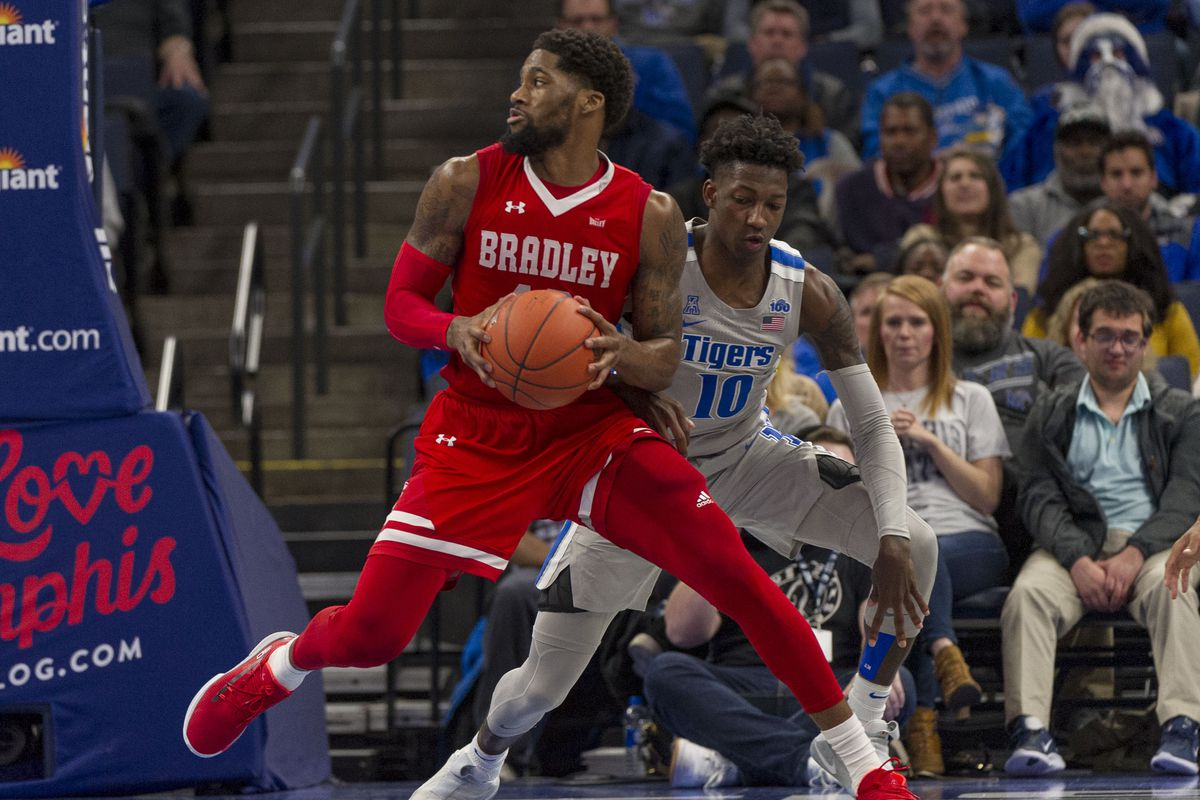 NCAA Basketball: Bradley at Memphis