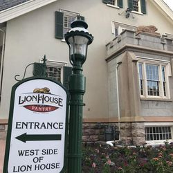 The Lion House Pantry serves lunch, dinner and desserts cafeteria-style.