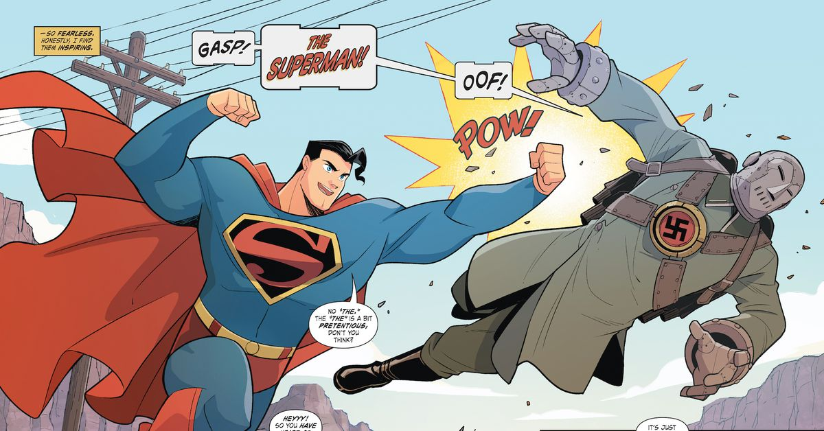 The Superman story that set the Ku Klux Klan back years is now a comic