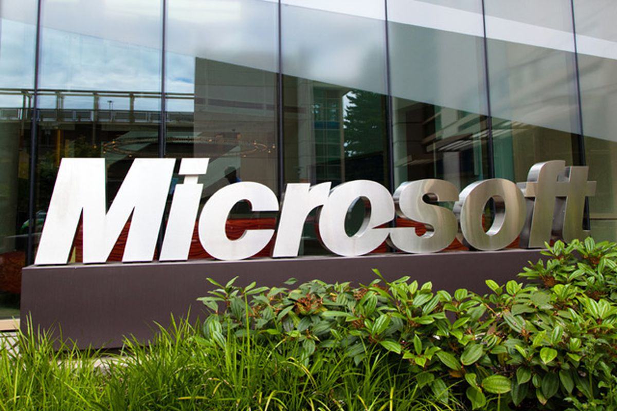 Microsoft offices stock image