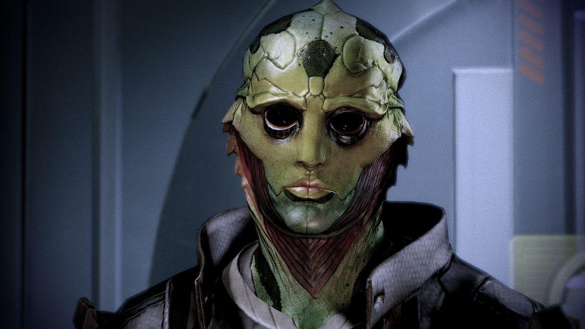 Thane Krios in Mass Effect 2