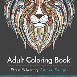 """Adult coloring book, <a href=""""http://www.amazon.com/Adult-Coloring-Book-Relieving-Designs/dp/1941325114/ref=pd_bxgy_14_3?ie=UTF8&refRID=0CZKH3Q9BJ9G8Q039GQC"""">$9.01</a> at Amazon"""
