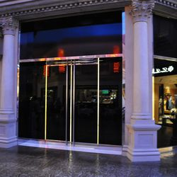The Dior store at the Forum Shops at Caesars is closed.