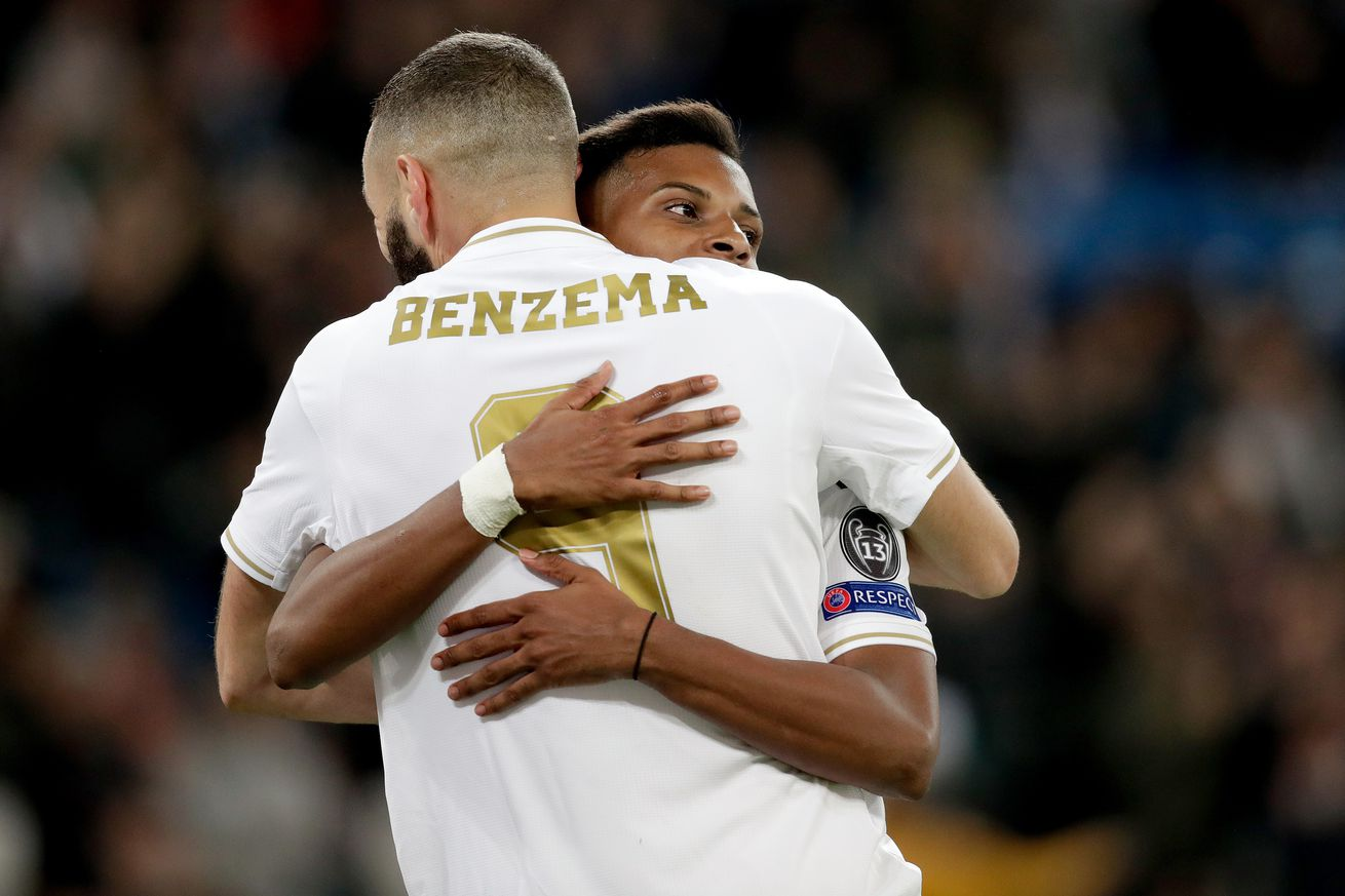 Rodrygo: ?Benzema makes everything easier?