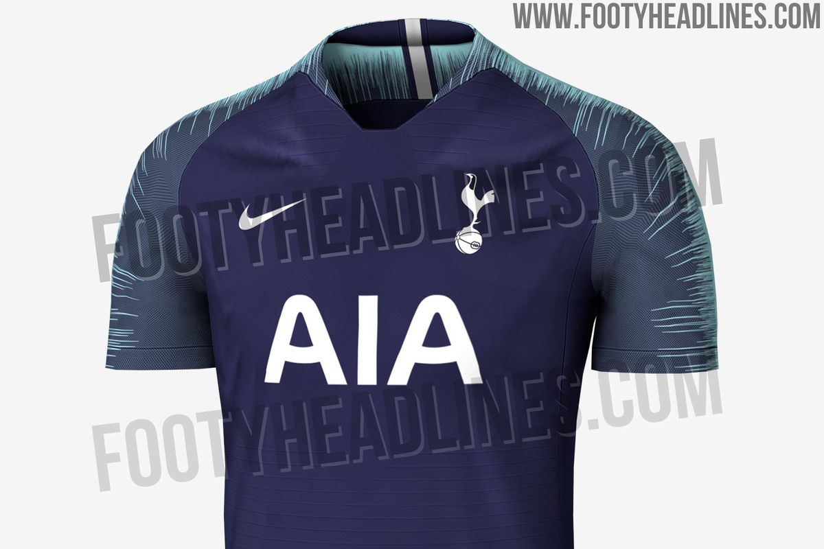 A couple of weeks ago we shared some leaked details about Tottenham  Hotspur s 2018-19 kits as leaked by the usually reliable Footy Headlines. dbb80e9c6