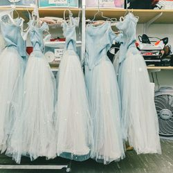 The Waltz of the Snowflakes dresses.